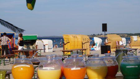 Cocktails beim Beach up
